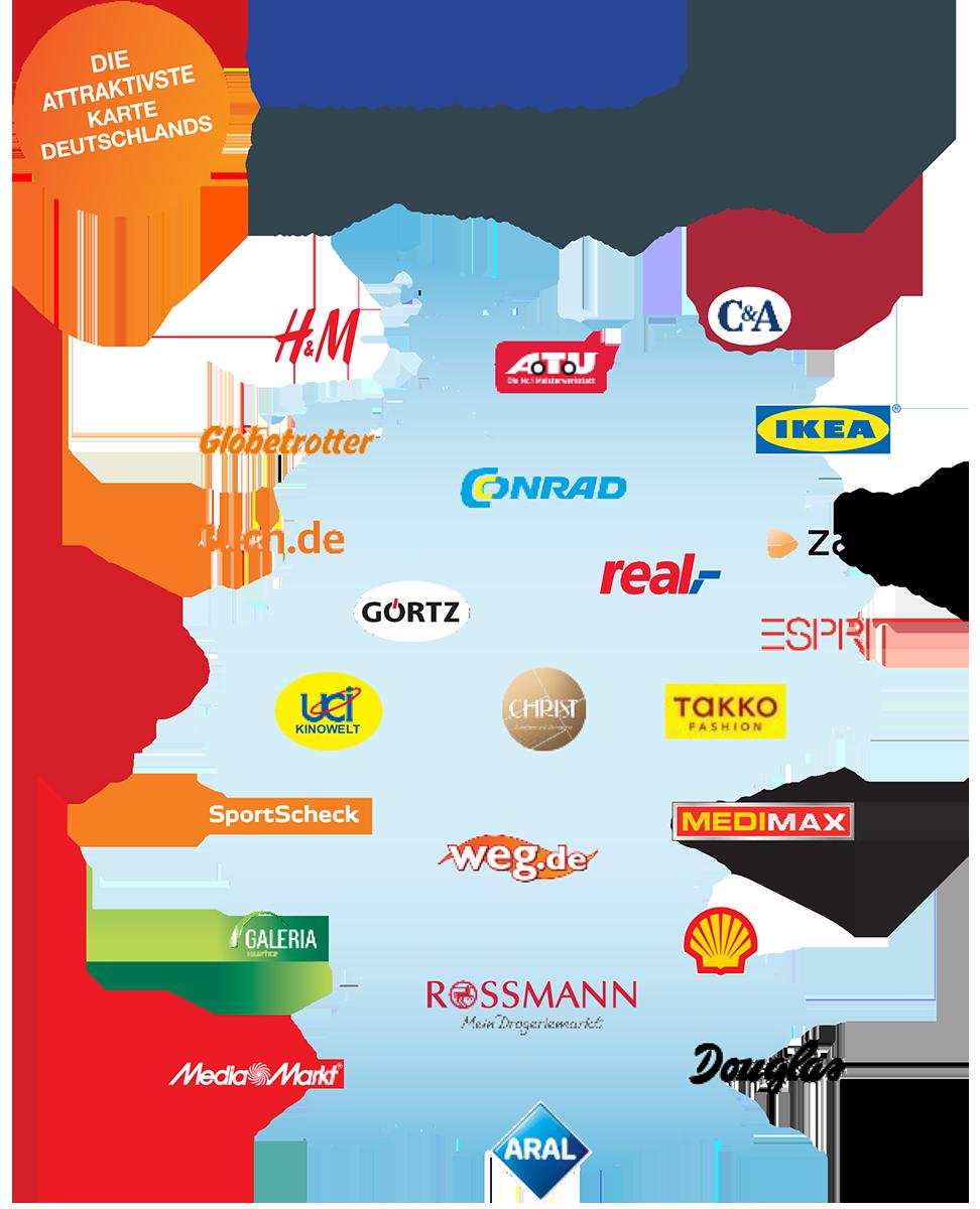 BenefitCard - einlösbar bei ca 750.000 Akzeptanzstellen deutschlandweit